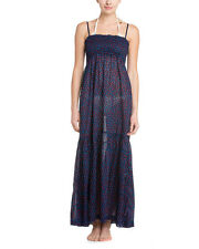 French Connection Ditsy Leaf Maxi Dress 'Nocturnal Mix' Sz M - NWT Beautiful!