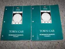 1998 Lincoln Town Car Shop Service Repair Manual Executive Signature Cartier V8