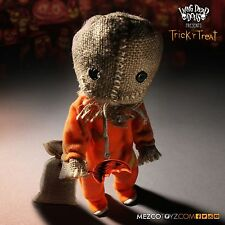 MEZCO LIVING DEAD DOLLS HALLOWEEN TRICK 'R TREAT SAM FIGURE ~BRAND NEW~