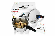 Legend 4L Stainless Steel Pressure Cooker with safety Value/Pot for All cooking