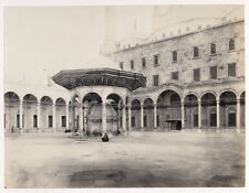 c.1870's  PHOTO FRITH EGYPT CAIRO MOSQUE OF MOHAMMED ALI