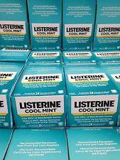 BOX LISTERINE COOL MINT POCKET PAKS 12 PACKS OF 24 = 288 BREATH STRIPS