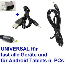 Universal Netzteil Ladekabel 2,5mm Europa Ladegeräte 5V 2A 10W DC Tablet PC +USB