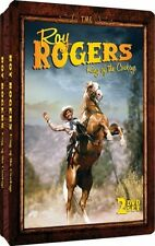 Roy Rogers: King Of The Cowboys (DVD, 2012, 2-Discs) Embossed Slim-Tin Packaging