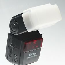 Flash Bounce Diffuser Cap Box Nikon SB400 SB-600 Flash **UK SELLER**FAST POST**