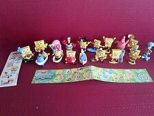17 Figuren - SpongeBob Squarepants Collection - + 17 BPZ - + 17 Aufkleber