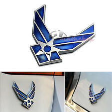 3D USAF Logo Air Force Wings Airman Metal Cars Auto Emblem sticker decal badge