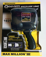 Brinkmann Q-Beam Spot / Flood Light 1625 Lumens Max Million III  800-2301-W NEW