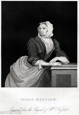 William Hogarth: Sarah Malcolm, giustiziata nel 1733.Antropologia Criminale.1850