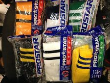 PRO STAR FOOTBALL SOCKS IN MENS ASSORTED COLOURS AT £3 APAIR IN 7 /12 UK