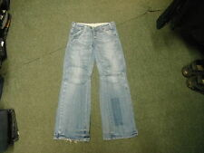 "G-Star Trash Ellwood Wmn Jeans Waist 26"" Leg 30"" Faded Light Blue Ladies Jeans"