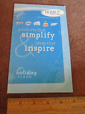 Procter & Gamble Holiday Prep & Ideas Booklet Cleaning Products Candy Wreath