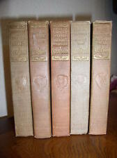 5 - Robert Louis Stevenson Books (1920?,Hardcover, Thomas Nelson & Sons)