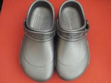 Crocs Charcoal Unisex Womens Size 9 Mens size 7---New