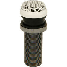 Omnidirectional Low Profile Ceiling Microphone–Discrete Panel CCTV Condenser Mic