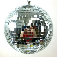 9 Inch Glass Mirror Disco Ball -  Dance Party DJ Club Stage Hanging Light Flash