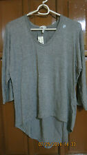AEROPOSTALE dolman sheer back top  XL