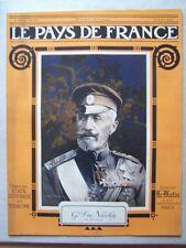 █ Le Pays de France N° 26 du 15 Avril 1915 Le Matin █