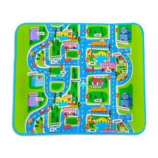 Helpful Car Road Track Children Play Mat Pad Rug Lego 1.6M x 1.3M + Carry Bag