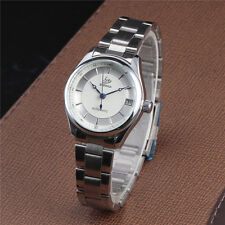 Women Fashion Mechanical Automatic Date Analog Full Stainless Steel Wrist Watch