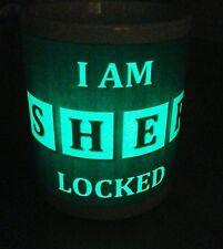 I am Sherlocked Sherlock Holmes Glow in the Dark Mug