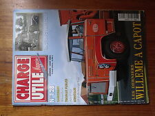 $$w Revue Charge Utile magazine N°128 Willeme a capot  Traction commerciale