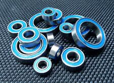 [BLUE] Rubber Sealed Ball Bearing Set For TAMIYA RC 58500 Sand Rover 2011