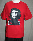 """CHE GUEVARA XL t-shirt BRIGHT RED cotton ICONIC POLITICAL STATEMENT 40"""" BNWOT"""