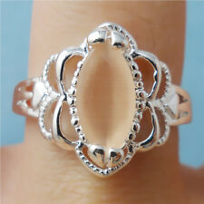1pcs S80 silver opal GEMS women Engagement rings Size8 JZ97
