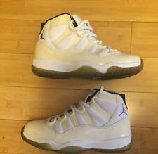 1995 OG Nike Air Jordan 11 XI White Columbia Blue sz 8