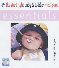 The Start Right Baby and Toddler Meal Plan (Essentials),Atkinson, Catherine,New