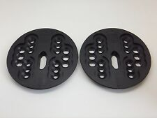 New Burton Snowboard 4 Hole Binding Mounting Plates Disc's Disk's Black