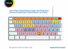 Avid Pro Tools Keyboard Stickers | Mac | QWERTY UK, US