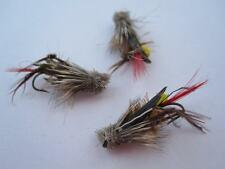 6 EA 13-7 DAVE'S HOPPER YELLOW #10, DRY FLIES TROUT DRY FLIES