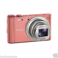SONY WX350 Compact Camera with 20x Optical Zoom - Pink World's Smallest Camera