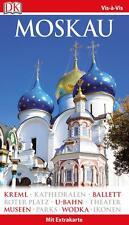 Moskau 2015 - 2016 Rußland Kreml UNGELESEN Reiseführer Vis a Vis
