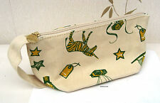Origins Fawn with Green & Yellow Animal Patterned Toiletries Bag