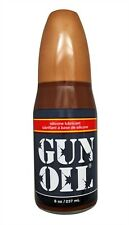 Gun Oil Silicone Based Personal Lube Lubricant 8oz