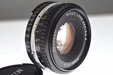 Nikon Series E 50mm f/1.8 Ai-s pancake lens. MINT cond. +filter. Tiny classic!