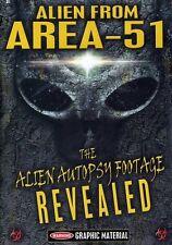 Alien from Area 51: The Alien Autopsy Footage Revealed (2012, REGION 1 DVD New)