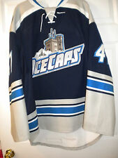AHL NHL 2014-2015 ST JOHN'S ICECAPS RYAN PARENT GAME WORN HOCKEY JERSEY