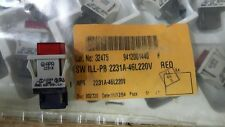 APR 2231A-46L220V RED switch 1 unit NOS