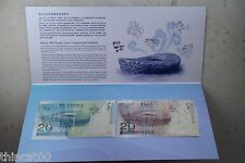 China 2008 Beijing Olympics Games Commemorative Banknotes (Hong Kong and Macau)