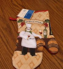 Home Collection-Italian Chef Oven Mitt–NEW
