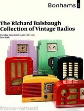 Bonahms Richard Balsbaugh Collection radio ancienne TSF Emerson Arvin Fada Garod