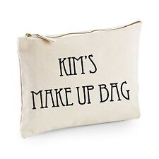 Personalised Make Up Bag/Case - Ideal Birthday Gift - Christmas/Xmas Present
