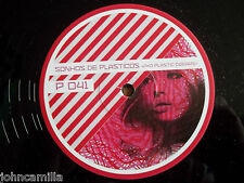 "UNKNOWN - IN YOUR HANDS / SONHOS DE PLASTICOS 12"" RECORD - P SERIES - P 041"