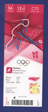 Orig.Ticket  Olympic Games LONDON 2012  -  HOCKEY   JAPAN - CHINA  !!  RARE