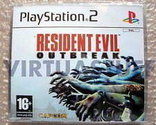Resident Evil, Outbreak, promo, PS2, Playstation 2, EURO, brand new, nuovo, raro