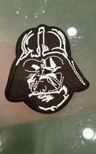 Star wars Lord Darth Vader Face Helmet applique sew on /iron on
